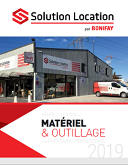 Location matériel chantier Solution Location