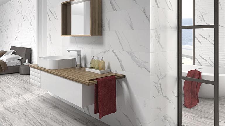 Comment moderniser sa salle de bain avec des carreaux tendances ?