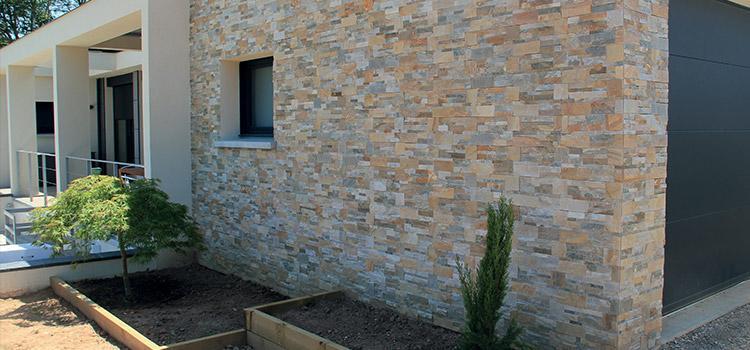 plaquette de parement pierre naturelle ext rieur brique. Black Bedroom Furniture Sets. Home Design Ideas
