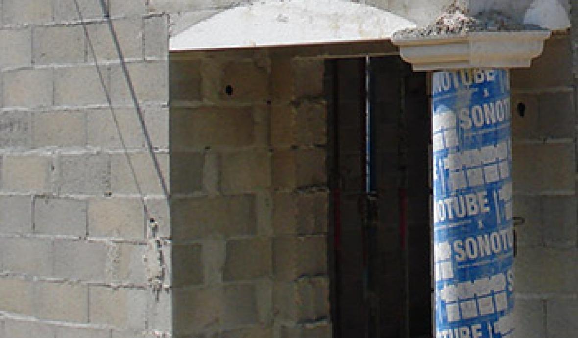 Habiller Un Poteau Interieur poser des plaquettes de parement extérieur : mur en parement