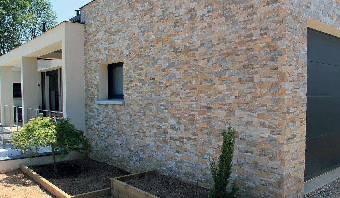 Barbecue En Pierre De Parement plaquette de parement pierre naturelle extérieur, brique de